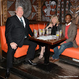 OIC - ENTSIMAGES.COM - Gogglebox's Mr and Mrs  Gilbey and Tayo Agboola at the Channel 5  launch of Gambling Awareness Day London 6th March 2015 Photo Mobis Photos/OIC 0203 174 1069