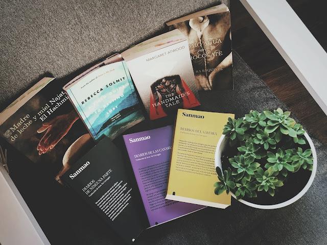 Selección de libros para #LeoAutorasOct