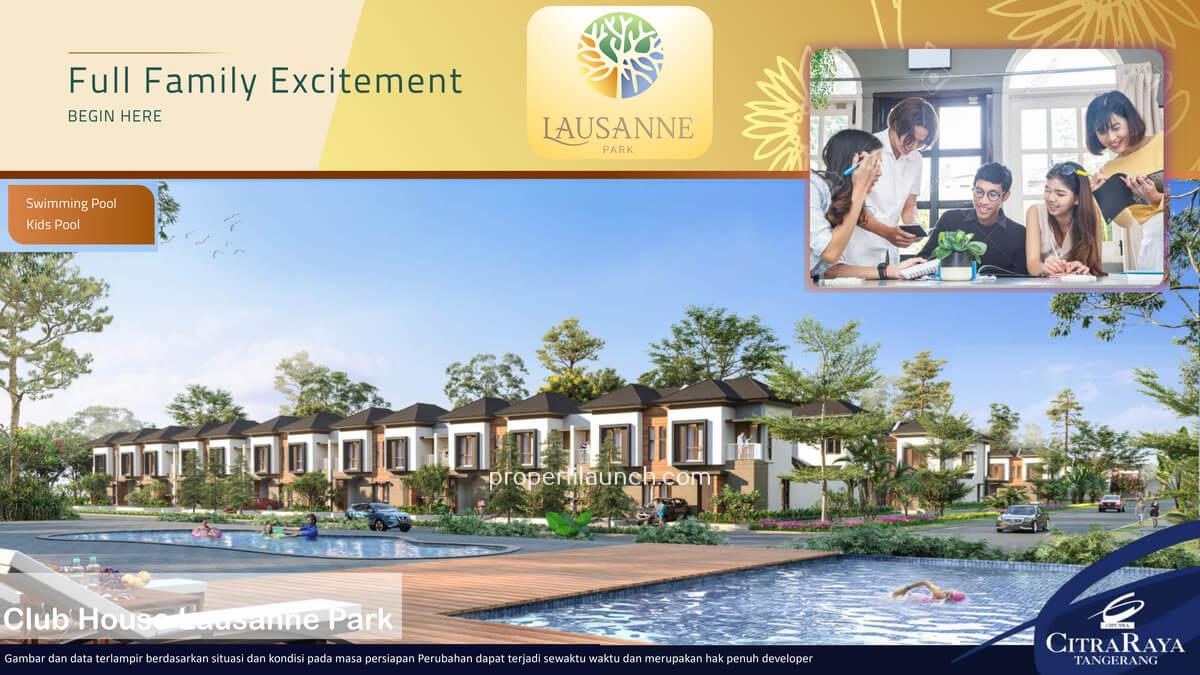 Club House Lausanne Park Citra Raya