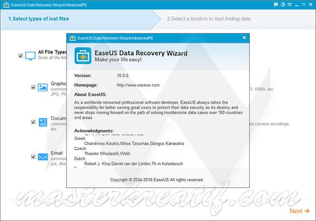 EaseUS Data Recovery Wizard 10