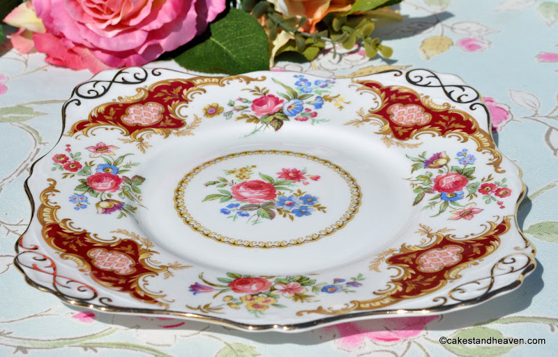 Tuscan Windsor pattern vintage china