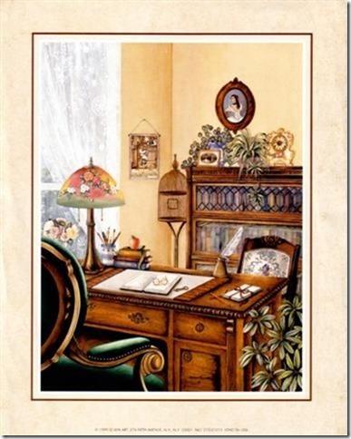 láminas antiguas, ilustraciones viviendas  (4)