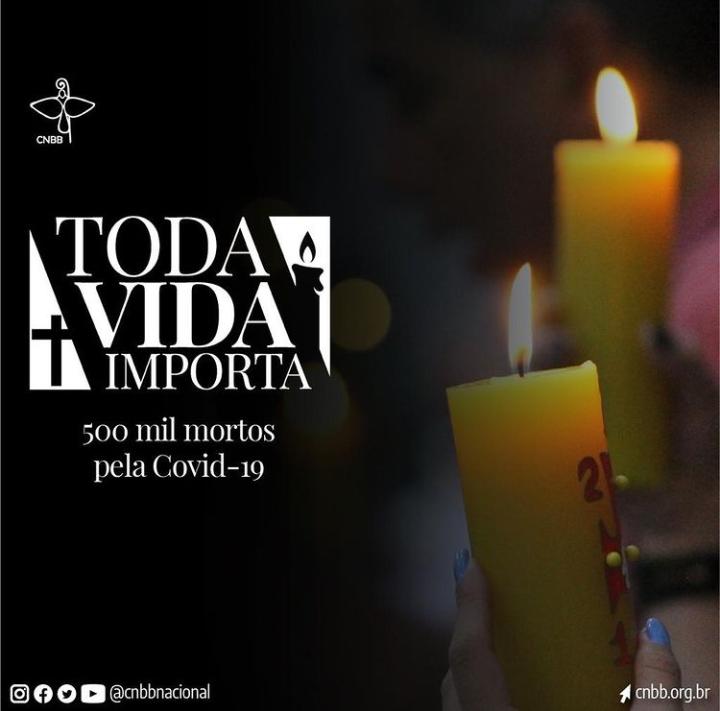 A Arquidiocese da Paraíba se une a CNBB e realiza o Domingo de oração para as vítimas da Covid-19