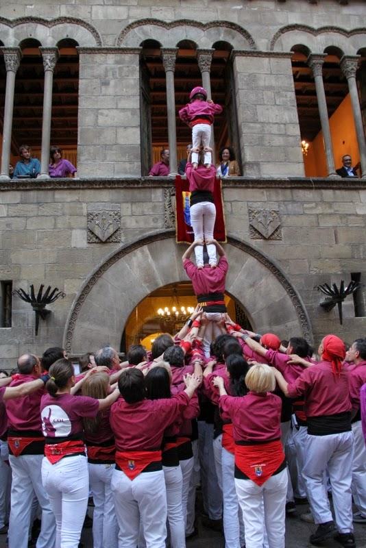 19è Aniversari Castellers de Lleida. Paeria . 5-04-14 - IMG_9595.JPG