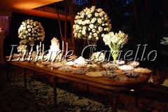 Fotos de decoração de casamento de Casamento Marcela e Eduardo no Clube Paissandu da decoradora e cerimonialista de casamento Liliane Cariello que atua no Rio de Janeiro e Niterói, RJ.