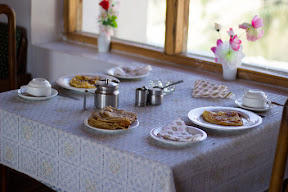 The breakfast in PTDC Phander