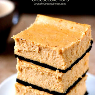 Pumpkin Cheesecake Bars Recipe Card