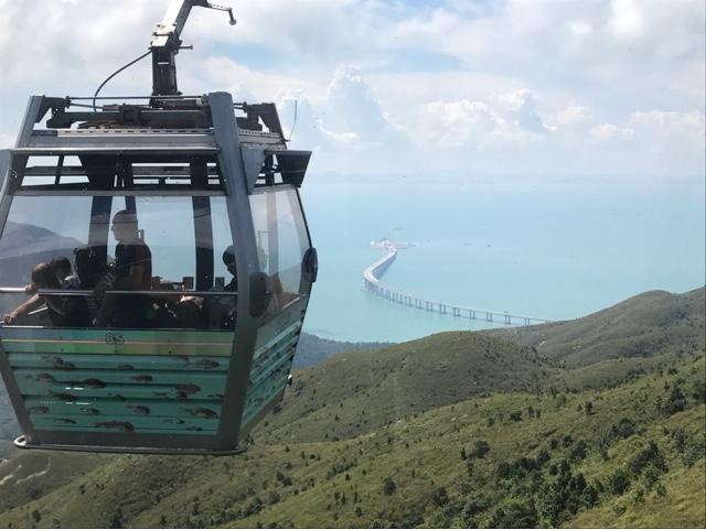 昂坪360 全港首個『 蒙眼纜車體驗 』