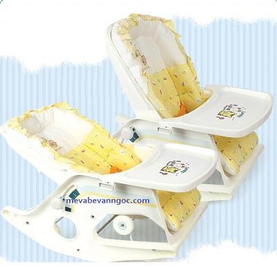 Ghế tập ăn trẻ em Hàn Quốc DS - 110