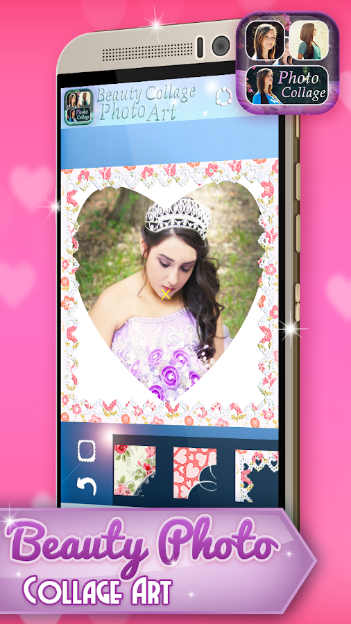 beauty photo collage art   android apps on google play