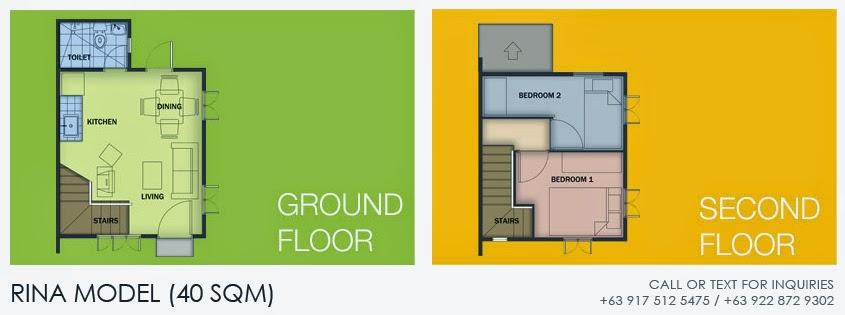Rina model house interior design