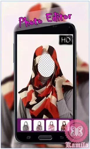 Aplikasi Android Untuk Mencoba Model Hijab