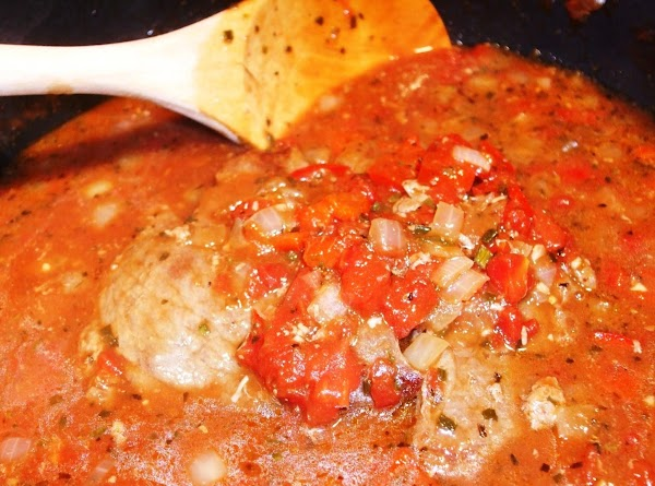 Add meat back to the pan, cover and cook until the meat is very...
