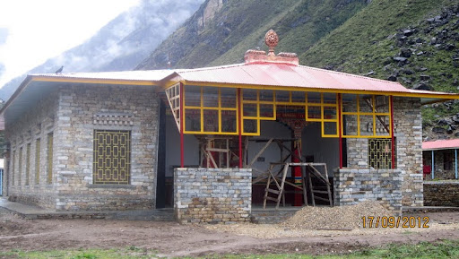 Exterior of new gompa at Rachen Nunnery, Tsum, Nepal, September 2012. Photo courtesy of Kopan Monastery.