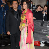 OIC - ENTSIMAGES.COM - Sanjeev Bhaskar and Meera Syal at the The 5th Annual Asian Awards 2015 in London 17th April 2015 Photo Mobis Photos/OIC 0203 174 1069