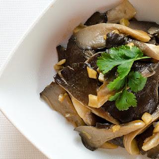 Easy Oyster Mushroom Stir-Fry.