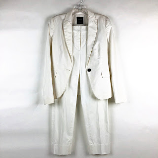 Barneys New York White Suit