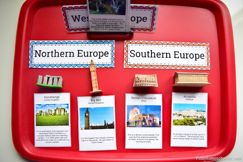 Europe Continent Study: Landmarks of Europe