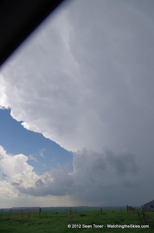 04-14-12 Oklahoma & Kansas Storm Chase - High Risk - IMGP0357.JPG