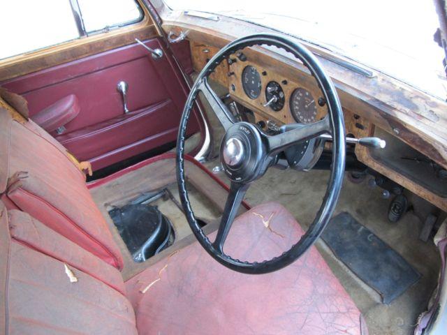 Bentley R Type Rusty