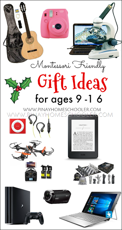 Montessori Friendly Gift Ideas for Tweens and Teens