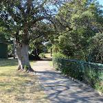 Walking path through Cremorne Reserve (259151)