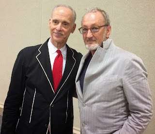 With director John Waters (PINK FLAMINGOS, CRYBABY, HAIRSPRAY, etc) in Miami.