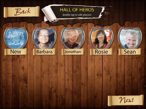 Social Quest Hall of Heroes