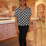 WWW.ENTSIMAGES.COM -      Dionne Bromfield's appearance at the Benefit Boutique store Carnaby Street Jan 4th 2014                                             Photo Mobis Photos/OIC 0203 174 1069
