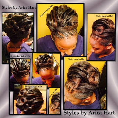 Black hair styles, updo,  hair care, styles , formal
