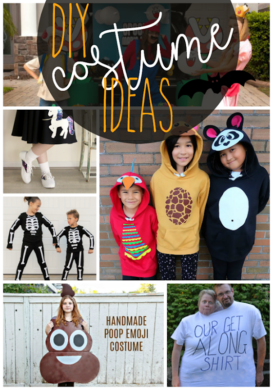 DIY Costume Ideas at GingerSnapCrafts.com #halloween #DIY #costumes #DIYcostumes
