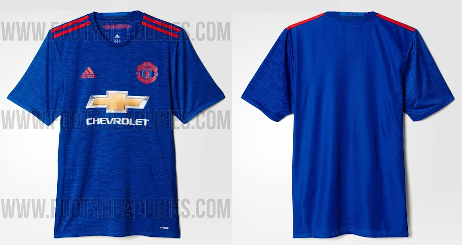 new styles 19fb4 fcd7f All 3 New Manchester United 2016-17 Kits (Released)