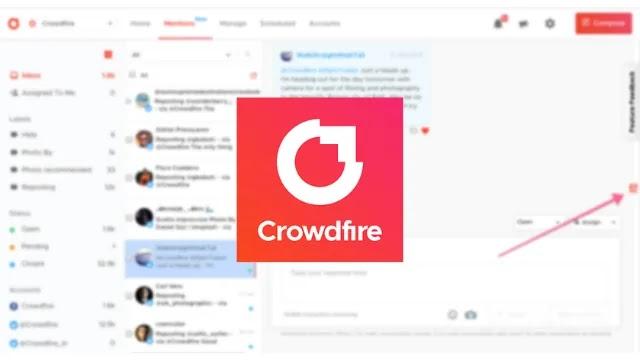 برنامج Crowdfire
