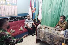 Pemdes Cimanuk Dan TNI POLRI Bersama Warga Masyarakat Lakukan Vaksinasi Masal Yang Kedua
