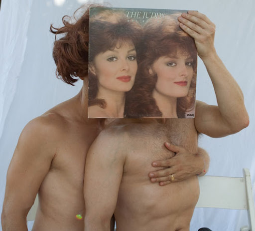 The Judds topless sleeveface
