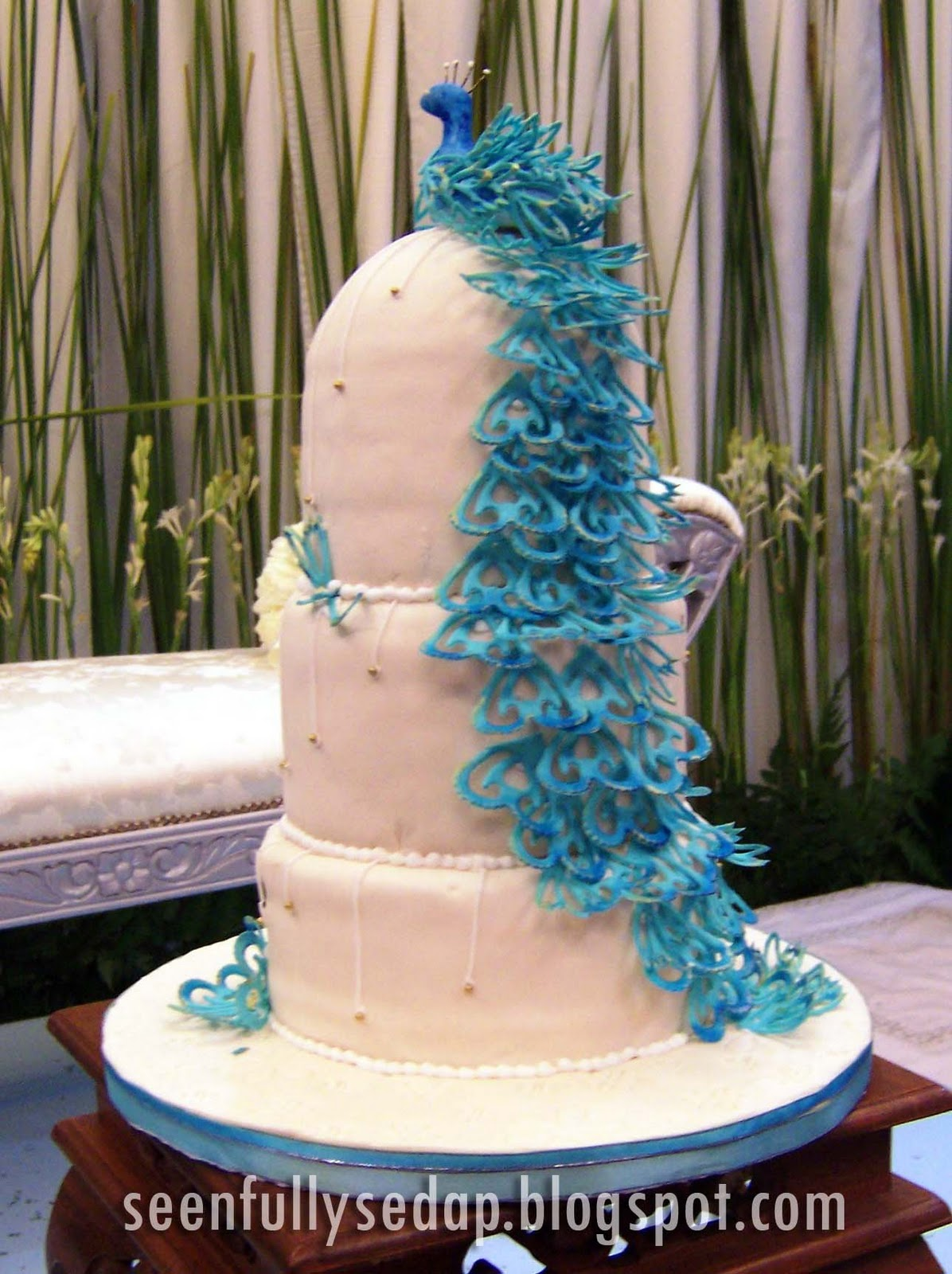 Tereza S Blog Peacock Wedding Cake