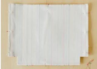 Menambahkan interfacing dalam membuat tote bag Paling simpel