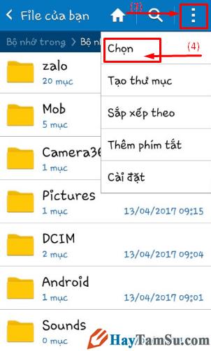 Hướng dẫn chuyển hình ảnh, video từ điện thoại Android sang thẻ nhớ SD + Hình 4