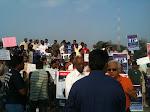 Rally against acid attacks
