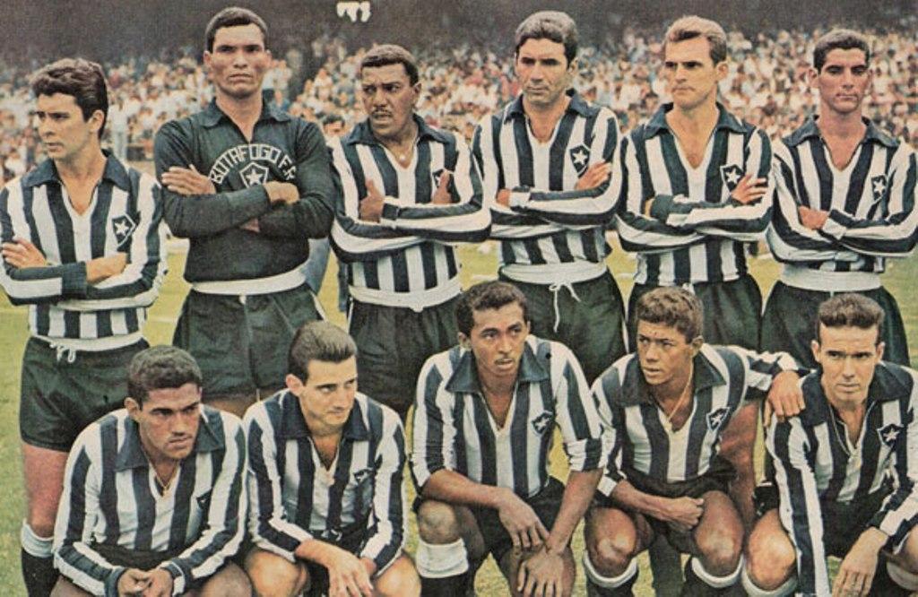 ea92a0d207435 1962  Botafogo bicampeão de futebol estadual 1962