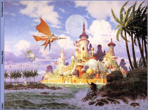 Fantasy Aisle, Fantasy Scenes 1