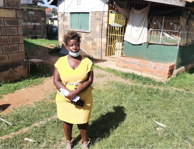 Kitale businesslady Mrs Terry Wabongo