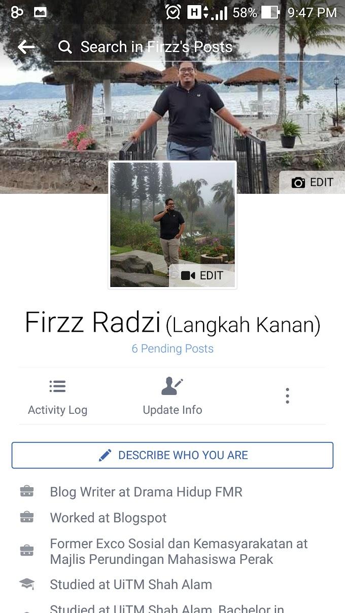 Status FB Aku Disalah Anggap