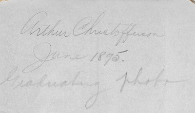 Arthur Christofferson CRosby ant back