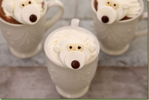 marshmallow polar bears
