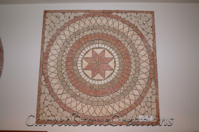 Brown, Cream, Flooring, Flooring & Mosaics, Interior, Marble, Mosaic, Natural, Red, Stone, Tile, Travertine