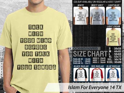 Kaos Distro Islami For Everyone 14 distro ocean seven