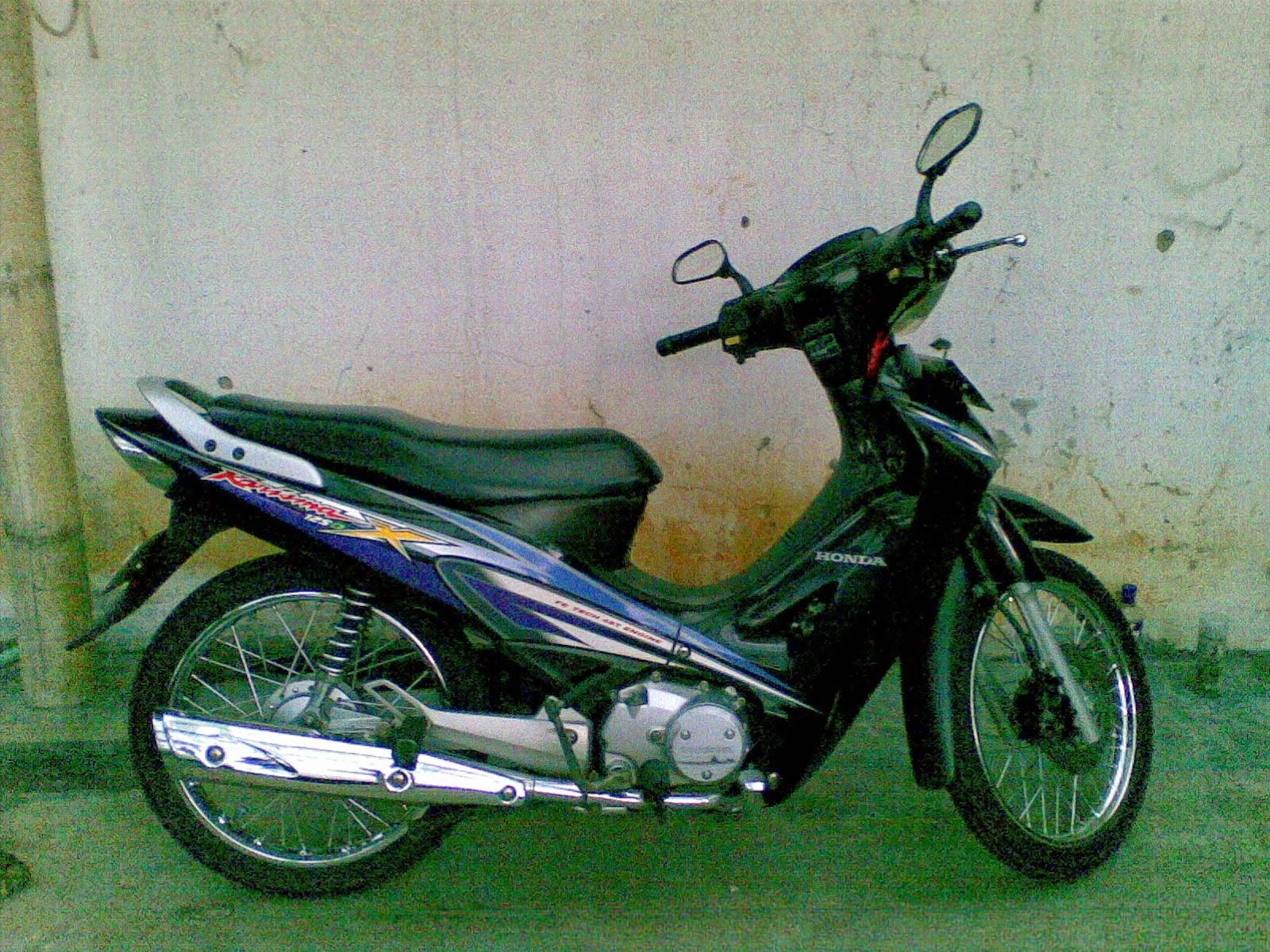 Modifikasi Motor Honda Kharisma X
