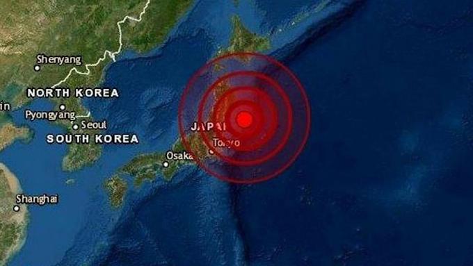 Un terremoto de magnitud 7,2 sacude el noreste de Japón y activa momentáneamente la alerta de tsunami