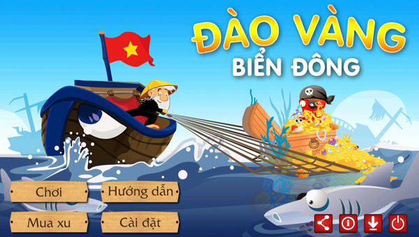 Thư giãn cùng Đào vàng biển Đông và Ao cá vui vẻ 2